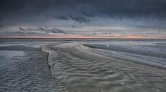 Muddy flow (Through Bri`s Lens) Tags: sussex shorehambysea lowtide sunset windfarm rampionwindfarm brianspicer canon5dmk3 canon1635f4