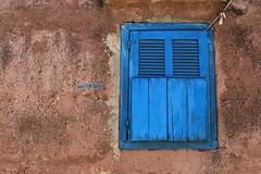 Blue window ... (Zé Eduardo...) Tags: blue africa wood architecture wall house urban street senegal joalfadiouth thies