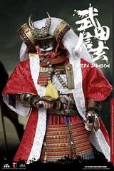 COOMODEL 20181215 CM-SE039 Takeda Shingen 武田信玄 - 02 (Lord Dragon 龍王爺) Tags: 16scale 12inscale onesixthscale actionfigure doll hot toys coomodel samurai