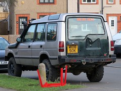 M108 SOK (Nivek.Old.Gold) Tags: 1994 land rover discovery tdi 5door 2495cc chepstow4x4plus