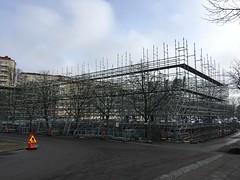 construction (rotabaga) Tags: sverige sweden göteborg gothenburg iphone chalmers