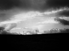 windmills (olveres) Tags: hiking legacy glass olympus omd canon fd oxenhope black white bw westyorkshire