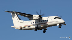 Dornier 328-110, Private Wings, D-CREW (maxguenat) Tags: avion cointrin spotting dornier do328110 privatewings dcrew