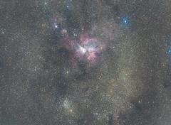 Eta Carinae 40min exposure (raminder.s) Tags: pixinsight telescope astrophotography astronomy sky nasa space star dslr canon 70200mm
