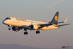 D-AECA Embraer 190 Lufthansa Cityline (Guillaume Carré) Tags: daeca embraer 190 lufthansa cityline spotting geneve aeroport geneva lsgg gva