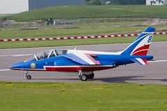 Alpha Jet E139 F-UGFC 8 PdF (spbullimore) Tags: 8 fugfc e139 e jet alpha dassault de patrouille 20300 epaa france french air force armee lair 2018 cambridge airport