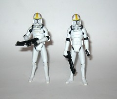 clone pilot oddball no. 11 x 2 star wars the clone wars basic action figures blue white card 2008 hasbro pilots (tjparkside) Tags: clone pilot oddball cw14 cw 14 star wars blue black card packaging galactic battle game display base stand collector basic action figure figures hasbro 2010 helmet blaster blasters missile projectile launcher cannon rocket launching v19 torrent starfighter arc170 fighters fighter republic no 11 x 2 white 2008 pilots