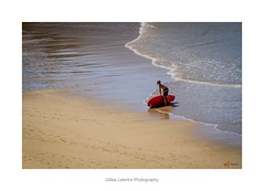 SURF the first steps (gillouvannes56) Tags: cotesauvagequiberon waves vagues mer sea light lumière couleurs colors surfig surf quiberon water sport seascape paysage britain bretagne morbihan portbara canon surfing sable sand