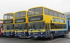 Dublin Bus AV169/70/1. (Fred Dean Jnr) Tags: dublinbus bstone volvo b7tl alexander alx400 av169 av170 av171 00d70169 00d70170 00d70171 broadstonedepotdublin february2013 dublinbusyellowbluelivery busathacliath drivertrainingvehicle dublinbusdrivingschool broadstone buseireannbroadstonedepot