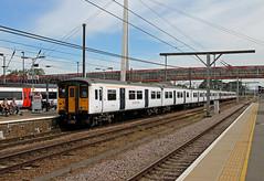 317652 317505 Cambridge (CD Sansome) Tags: 317652 317505 317 cambridge station train trains abellio greater anglia national express polar bear