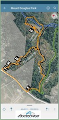 Little Mount Douglas Avenza GPS Track (Bill 2.6 Million views) Tags: tags mountdouglaspark douglas galaxynote9 galaxy samsung note9 smn960w mount avenza gps phone app mountan little doug climb scramble rocks steep park trails tod whittaker mercer blenkinsop