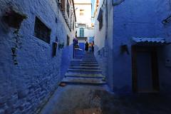 Chefchaouen, Morocco, January 2019 D700 279 (tango-) Tags: chefchaouen bluecity villaggioblu bluevillage morocco maroc 摩洛哥 marruecos марокко المغرب