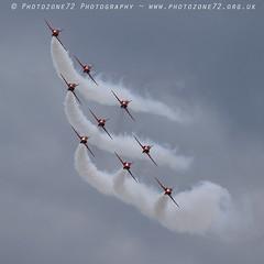 7090 Diamond (photozone72) Tags: duxford iwmduxford aircraft airshows airshow aviation canon canon7dmk2 canon100400f4556lii 7dmk2 raf rafat redarrows reds hawk