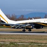 BSL ➡️ 9H-GGG Boeing BBJ1 Jet Aviation Flight Services thumbnail