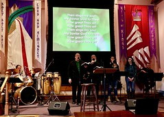 Worship Service and Annual Dinner (3-17-2019) - Opening Hymn (nomad7674) Tags: 2019 20190317 march beacon hill evangelical free church efca worship service monroect monroe ct music musical praise song songs sing singing singers team choir chorus leaders opening hymn