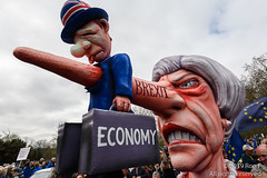 Put It To The People March - London, 23 March 2019 (The Weekly Bull) Tags: brexit britain conservative eu europeanunion london peoplesvote theresamay tory uk democracy demonstration effigy protest rally rerun referendum remainers satire