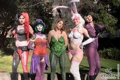 wr_ECCC2018-BodyPaintPoster-Ladies-1-20x30 (VonRC) Tags: eccc2018 bodypaint batman catwoman harleyquinn poisonivy dueladent whiterabbit joker