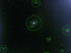 Astrometry.Net Plate Solved (NikulSuthar) Tags: plate solving messier m86 m84 astrometry