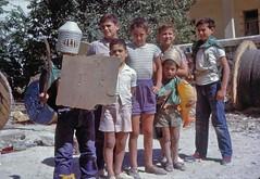 Ομάδα παιδιών στους Αμπελόκηπους το 1969. (Giannis Giannakitsas) Tags: greece grece griechenland athens athenes athen αθηνα nichilas econopouly