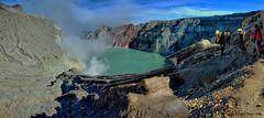 Volcan Ijen (Java) (MsolG Photos) Tags: volcan vulcano javaisland isladejava indonesia ijen lago aguassulfurosas cráter azufre acidosulfurico acidoclorhidrico mineros ngc
