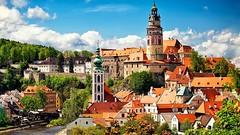 Czechia - KRUMLOV - Sommer Ansicht (monte-leone) Tags: böhmisch böhmen ceskycrumlov ceskykrumlov krumau tschechien czechia czechrepublik