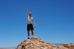 One With The Universe (Chris Hunkeler) Tags: chile desert mountain top rock atacama rocky peak valledelaluna