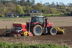 Massey Ferguson 7620 Tractor with a Front Press, Pottinger Lion 3002 Power Harrow & Pottinger Vitasem 3002 ADD Seed Drill (Shane Casey CK25) Tags: massey ferguson 7620 tractor front press pottinger lion 3002 power harrow vitasem add seed drill mf agco red mallow traktor traktori tracteur trekker trator ciągnik barley winter sow sowing set setting drilling tillage till tilling plant planting crop crops cereal cereals county cork ireland irish farm farmer farming agri agriculture contractor field ground soil dirt earth dust work working horse horsepower hp pull pulling machine machinery grow growing nikon d7200