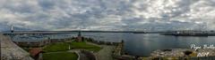 Porto da Coruña (pepe_bello) Tags: portodacoruña puertodelacoruña acoruña panorama galicia castelodesananton nubes clouds
