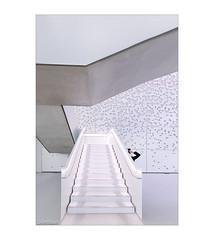 Die Fotografin (Hildegard Spickenbaum) Tags: white stairs fotografin weiss
