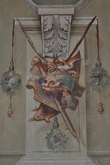 Galerie des Antiques (1584-1586), Corridor Grande, Sabbioneta, province de Mantoue, Lombardie, Italie (byb64) Tags: sabbioneta mantoue mantova mantoa mantua provincedemantoue provinciadimantova gonzague gonzaga lombardie lombardia lombardy lombardei italie italy italia italien europe eu europa ue unesco unescoworldheritagesite vespasianogonzaga renaissance renacimiento rinascimento xvie 16th cinquecento galleriadegliantichi alessandroalberti galerie galleria gallery galeria corridorgrande giovannialberti fresque fresques frescoes frescos fresko fresco affreschi trompeloeil