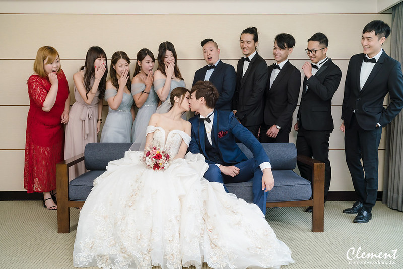 婚攝,婚攝Clement,婚禮紀錄,婚禮攝影,鯊魚團隊,晶華酒店