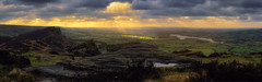 The Roaches Peak District (seantindale) Tags: theroaches peakdistrict panoramic olympus omdem1markii winter landscape sunlight