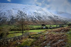 Another view! Lake District Walk 182 (Glenn Birks) Tags: wasdale head lake district snow capped mountain england