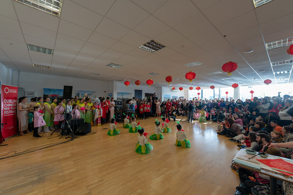 YEAR OF THE PIG - LUNAR NEW YEAR CELEBRATION AT THE CHQ IN DUBLIN [OFTEN REFERRED TO AS CHINESE NEW YEAR]-148917