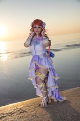 _MG_9001 (Mauro Petrolati) Tags: elisa runeterrae cosplay cosplayer rimini 2018 comix set alba sunrise spiaggia beach love live maki nishikino angel sea mare idol