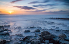 Last light at Nash Point (cliffwilliams449) Tags: feb2014 landscape nashpoint wales water seascape coast