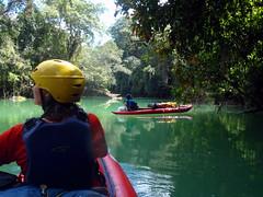 On The Moho River (Dru!) Tags: belize toledo mohoriver paddling inflatablekayaks centralamerica maya mayanterritory river jungle