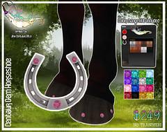 Jinx Centaur - Gem Horseshoe (Sodap0pp) Tags: jinx centaur horse shoe horseshoe gem gemstones bling secondlife second life avatar