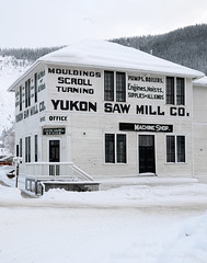 _ROS3490-Edit.jpg (Roshine Photography) Tags: yukonquest yukonsawmillcooffice dawsoncity environmental architecture buildingsandstructures historic snow downtown
