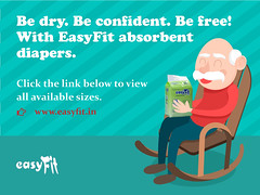 Say goodnight to leaks and night time changes with Easyfit adult diapers! (Xcel Healthcare Products) Tags: adult diapers
