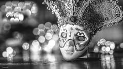 Happy Holidays - 6526 (ΨᗩSᗰIᘉᗴ HᗴᘉS +50 000 000 thx) Tags: happy holidays happyholidays canaval mask venise masquedevenise macro bokeh masque bw blackandwhite nb noiretblanc art belgium europa aaa namuroise look photo friends be yasminehens interest eu fr party greatphotographers lanamuroise flickering sliderssunday hss