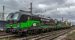 03_2019_03_16_Wanne-Eickel_Üwf_6185503_CCW_CAPTRAIN_6193_231_ELOC_6193_556_ATLU_6193_277_6193_275_ELOC_TXLogistik (ruhrpott.sprinter) Tags: ruhrpott sprinter deutschland germany allmangne nrw ruhrgebiet gelsenkirchen lokomotive locomotives eisenbahn railroad rail zug train reisezug passenger güter cargo freight fret herne wanne eickel wanneeickel stellwerk üwf 6185 6193 atlu ccw captrain eloc txl txlogistik outdoor logo natur