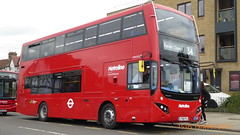 P1150147 VMH2532 LF68 PXJ at Arnos Grove Station Bowes Road Arnos Grove London (LJ61 GXN (was LK60 HPJ)) Tags: metroline volvob5lhybrid mcv evoseti mcvevoseti 105m 10490mm vmh2532 lf68pxj nb910