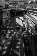 Street and Shadow (Photo Alan) Tags: vancouver vancouverdowntown vancouverstreet shadow shadowplay reflection light lights transportation city cityscape cityofvancouver carl zeiss carlzeiss carlzeissplanar50mmf14 canon canon5dsr