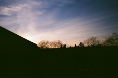9 (Ilya Feldman) Tags: mju2 mju kodak ultramax 400 mjuii olympus film russia 35mm sochi sunset