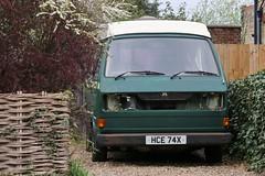HCE 74X (Nivek.Old.Gold) Tags: 1981 volkswagen transporter camper 1584cc t3