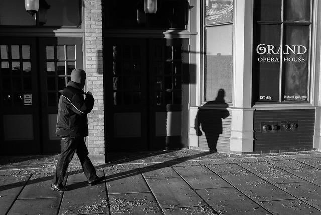 Shadowy Dude #LifeinOshkosh