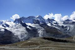 D20010.  From the Gornergratbahn. (Ron Fisher) Tags: schweiz suisse svizzera switzerland kantonwallis valais cantonvallese europa europe zermatt mountain snow glacier gletcher diealpen thealps swissalps alpessuisses schweizeralpen alpisvizzere sony sonyrx100iii sonyrx100m3 compactcamera