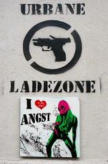 - (txmx 2) Tags: hamburg streetart archive reloaded emart angst stencil tile