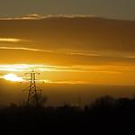 sunrise - Riverside Valley Park, Exeter, Devon - Jan 2019 thumbnail